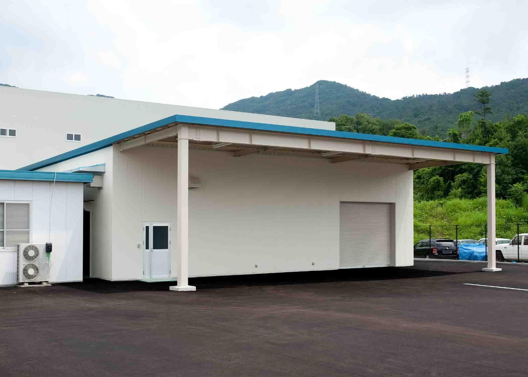 ニシキプリント東広島工場増築